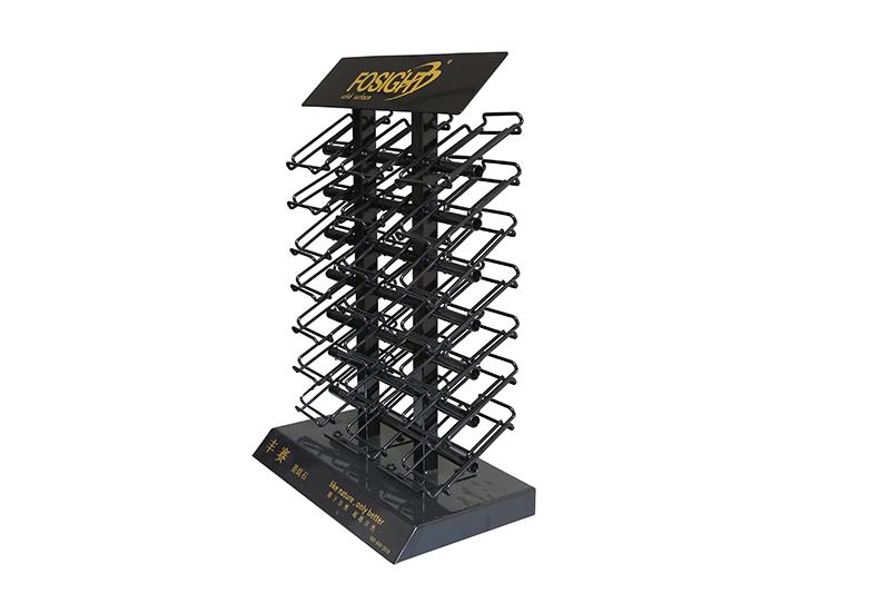 Stone Quartz Sample Display TableTop Rack For Marble ST-34-2