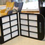 Marble Quartz Stone Display Binder For Various Tiles-6