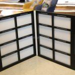 Marble Quartz Stone Display Binder For Various Tiles-8